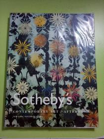 Sotheby's 苏富比伦敦2005年11月: CONTEMPORARY ART/AFTERNOON