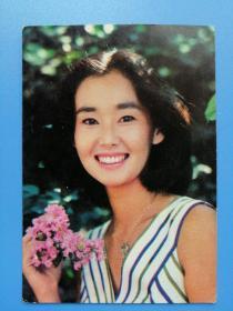 年纪卡1982年中野良子 天津人民美术出版社
