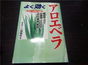 よく効くアロエべラ 久乡晴彦著 2001年 32开平装 原版日文日本书书 图片实拍