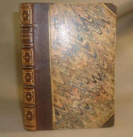1847年 Rejected Addresses 浪漫主义经典 英诗兰亭集《毁弃集》3/4摩洛哥羊皮特装 品上佳 美奂美仑 送礼佳品