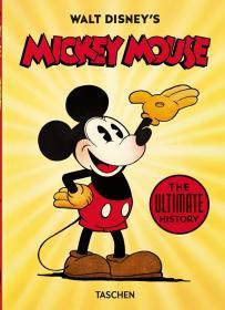 Walt Disney's Mickey Mouse沃尔特·迪士尼的米老鼠,40周年纪念版,英文原版