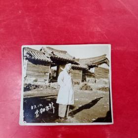 志愿军(1957年于朝鲜留影)