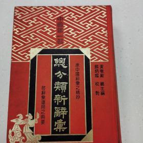 总分类新词汇(中国第一部)中日文