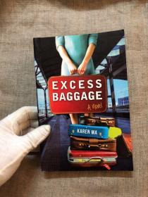 签名本!Excess Baggage: A Novel 姐妹物语【直击中国海外移民潮的新式移民故事。英文版】