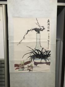 张仁芝七十年代清供图