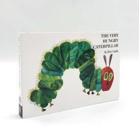全新正版正版现货 The very hungry caterpillar 好饿的毛毛虫 英文原版书纸板书 儿童原版彩色绘本图画书故事书 幼儿英语启蒙畅销书籍