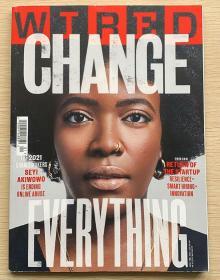 WIRED 连线 2021年1月 英文科技杂志 英国版