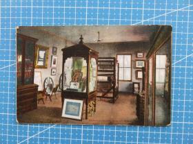美欧旧景--欧洲美国百年明信片--收藏集邮复古手账外国邮政空白彩色明信片