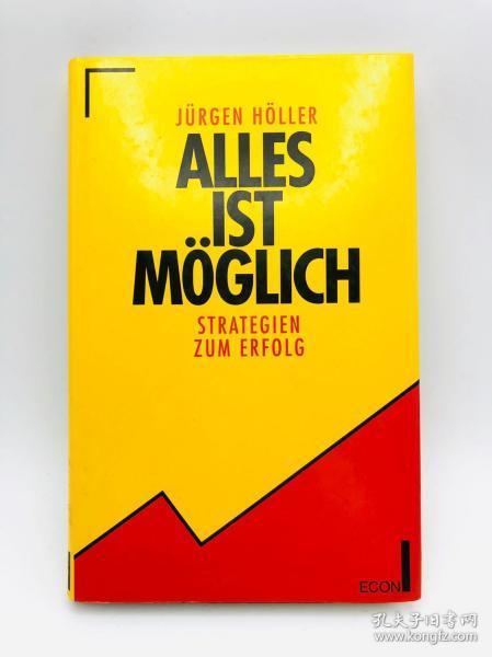 Alles ist möglich. Strategien zum Erfolg. 德文原版《一切皆有可能  成功的策略》