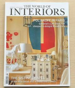 The World of Interiors家居世界2021年2月英国家居设计英文杂志