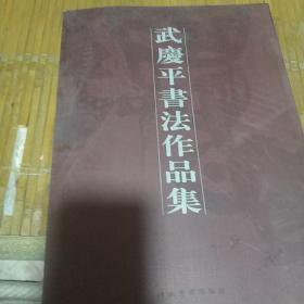 武庆平书法作品集  签名本
