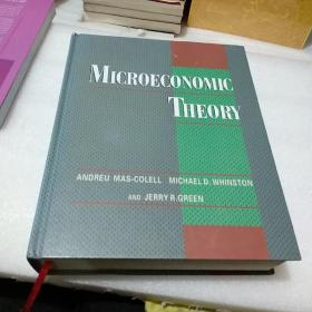 Microeconomic Theory微观经济理论【原版精装,品如图,有轻微碰伤】