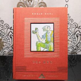 The Big Friendly Giant 好心眼儿巨人 Roald Dahl 罗尔德·达尔 everyman's library CHILDREN'S CLASSICS 人人文库 儿童经典系列 英文原版 布面封皮琐线装订 丝带标记 内页无酸纸可以保存几百年不泛黄