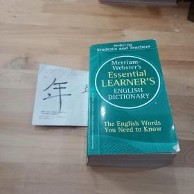 MerriamWebsters Essential Learners English Dictionary
