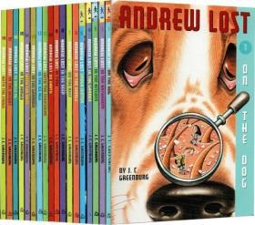(49D)Andrew Lost 18册 微观探索科普 自然科学 桥梁章节小说书 微观大世界 平装