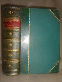 1860年HENRY HALLAM - LITERATURE OF EUROPE –哈莱姆《欧洲文学史话》3/4小牛皮大开本全插图本古董书
