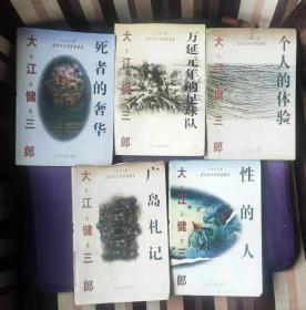 大江健三郎作品集:个人的体验,万延元年的足球队,性的人,广岛札记,死者的奢华(全5册) zz