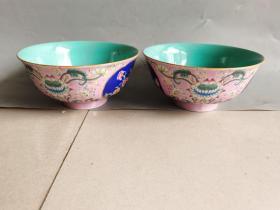 清代五彩瓷碗