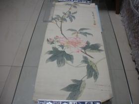 民国时期张文沛花卉一幅