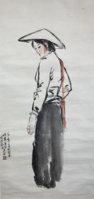 梁长林  《女人像》