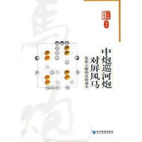 全新正版中炮巡河炮对屏风马:象棋大师的攻防战术