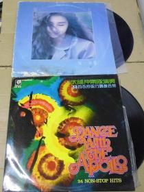 留声机专用  蔡立儿 太阳神乐  黑胶唱片2只 港版