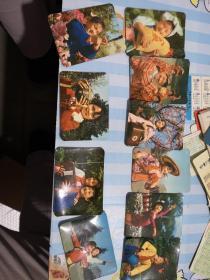 文革小卡片日历——1977——年日历——《10》张合售