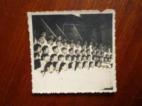 五六十年代照片 大合唱