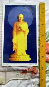 东林大佛宝像,已塑封。多拍邮费合并一公斤以内一个价格