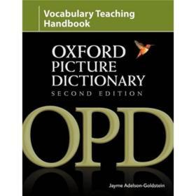 The Oxford Picture Dictionary Second Edition Vocabulary Handbook牛津图片词典 第二版 词汇手册 英文原版