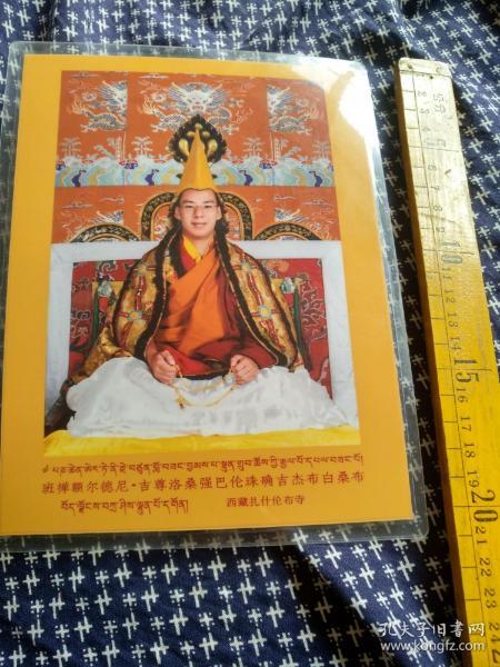 西藏扎什伦布寺佛像,已塑封。多拍邮费合并一公斤以内一个价格