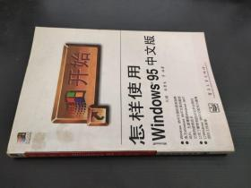 怎样使用Microsoft Windows 95中文版