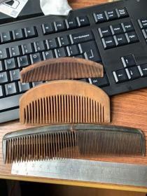 老的梳子4把,头饰发夹8个一起合售