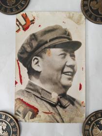 文革反右毛主席军装老照片