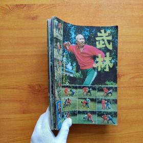 武林  1984年 第3、5、6、10、11、12期  共6本合售