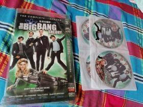 生活大爆炸1-4季 DVD光盘8张