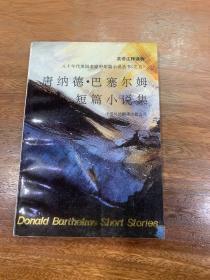 唐纳德·巴塞尔姆短篇小说集:八十年代美国名家中短篇小说丛书(之五)