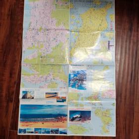 舟山市交通旅游图
