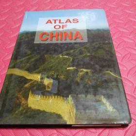 ATLAS OF CHINA(中国地图册)(英文版) 原价70现价30
