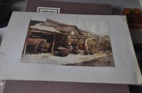 50年代各地方风景写生---金陵驿站---孙青羊
