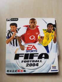 [游戏光盘]FIFAFOOTBALL2004绝对正式解密版1碟装。