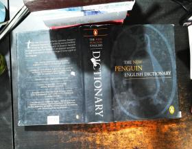 The New Penguin English Dictionary 最新企鹅英语词典 【书衣磨损 书侧污渍】