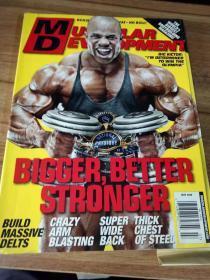 肌肉发展 美国原版健美杂志