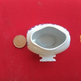 异型青花老鸟食罐
