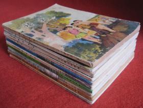 五年制小学课本语文第一册第二册第三册……第十册全套10本
