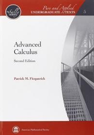 Advanced Calculus (pure And Applied Undergraduate Texts