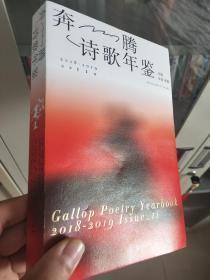 朵渔、老猫主编《奔腾诗歌年鉴》(2018——2019,总第11期)(稀缺,全新)