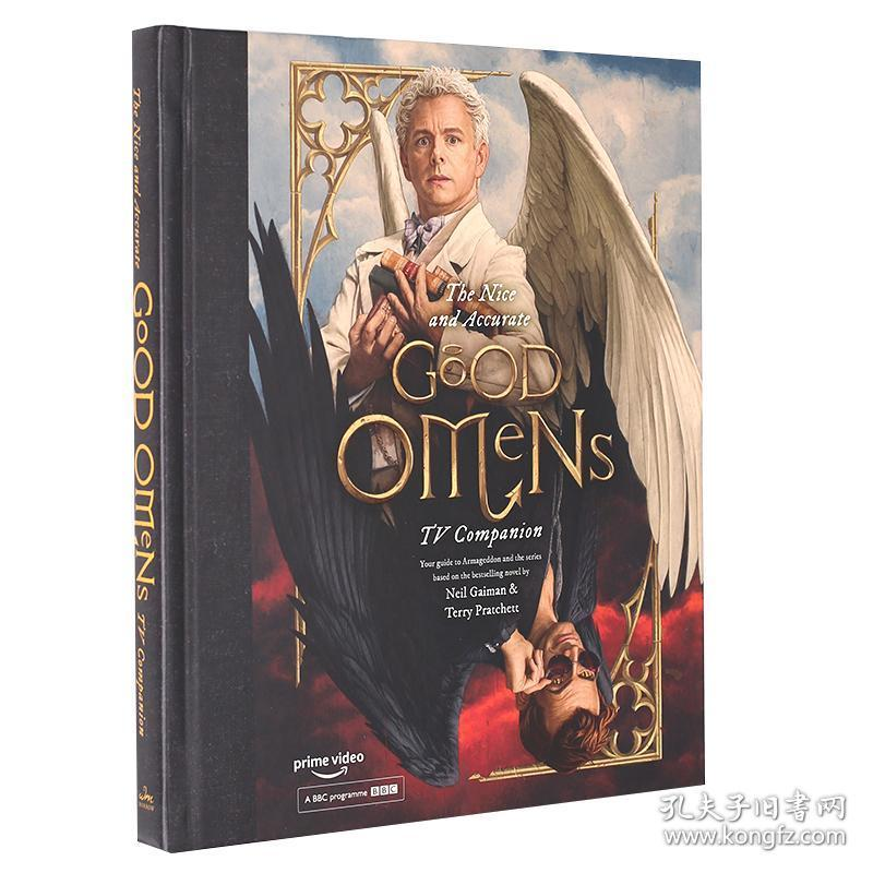 好兆头 电视剧指南设定集 英文原版 The Nice and Accurate Good Omens TV Companion 幕后制做 克辛卷福 Michael Sheen 尼尔盖曼