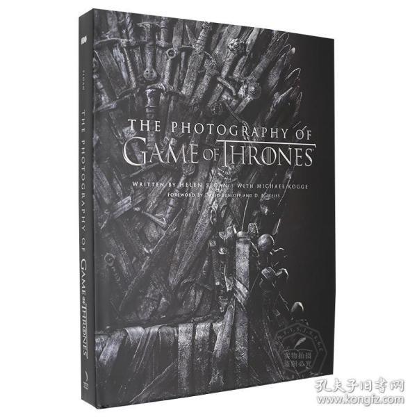 冰与火之歌权力的游戏 影视艺术摄影画册/画集 英文原版 The Photography of Game of Thrones 800张官方精选图片 精装全彩大开本