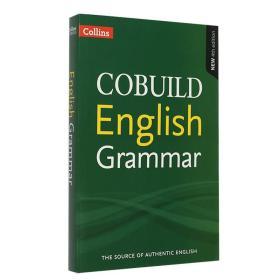 柯林斯英语语法 英文原版 Collins COBUILD English Grammar 语法用法自学 雅思 PET BEC参考工具书 进口 平装 Paperback